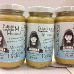 POL_Babci Mild Mustard 250g