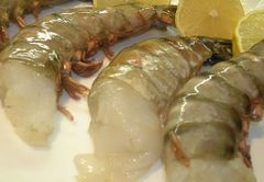 Seafood_Large Tiger Prawn 4lbs Box 特大老虎虾4磅箱