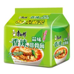 Classic Chinese instant noodle 康师傅蒜香排骨面