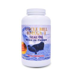 GIFT_Uncle Bill Omega-3 Seal Oil 500mg 300softgels 加拿大BILL海豹油 300粒装