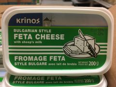 Krinos_Feta Cheese_Bulgarian Style with Sheep's Milk 200g / Feta 羊奶奶酪Cheese