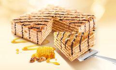 Marlenka with walnuts 800g 蜜莲卡蜂蜜千层蛋糕核桃味800克盒