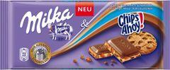 GER_Milka Chips Ahoy 100G 德国Milka趣多多曲奇饼干夹心巧克力 100克
