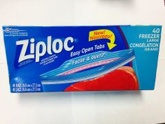 Ziplock Large Freezer Bags