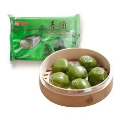 Red Bean Dumpling 6 pcs 豆沙青团6颗盒,2盒