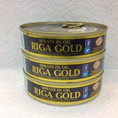 RUS_Riga Premium Sprats in Oil 160g