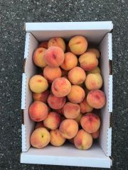 Local large red heavan peach 20lbs box