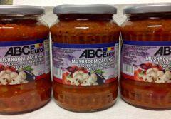 RO_ABC Euro Mushroom Zacusca 720ml (No shipping, Pick-Up Only)