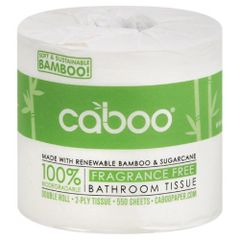 Caboo Single Bathroom Tissue Roll