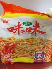 Snacks_【畅销品】正宗味咪虾味虾条 18gx 10小袋装