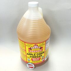 ORG_Bragg Apple Cider Vinegar 1 gallon (Pick-Up Only, No Shipping)