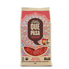 BEST_Que Pasa Organic Tortilla Chips Red Corn 425g 有机红玉米片425克大包装