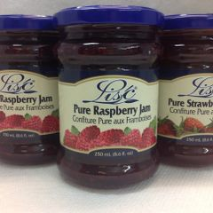 POL_ Lisc Pure Raspberry Jam 250ml
