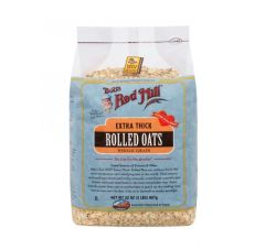 GRAIN_Bob's Red Mill Extra Thick Rolled Oats 907g 有机特粗燕麦片907克/袋