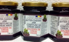 RO_ABC Euro Bitter Cherry Jam 6 x 196 ml