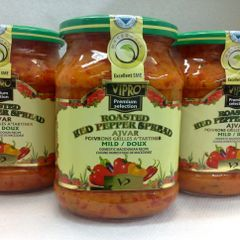 SER_Vipro Roasted Red Mild Pepper Spread 720g (No Shipping Pick-up Only)