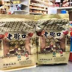 Laojikou Sunflower seeeds Pecan flavor 3 bags 老街口【核桃味】瓜子500克袋