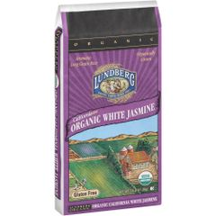 Grain_Lundberg Organic White Jasmine 25lb 加州有机茉莉香米25磅袋