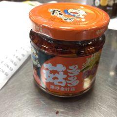 Flammulina Source with Rice 158g/ 饭扫光_爆炒金针菇 158克