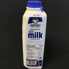 Happy Days Goat Milk 1L快乐时光羊奶1升