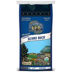 Grain_Lundberg Family Farms Organic Sushi Rice 25 lb 加州有机寿司米25磅袋