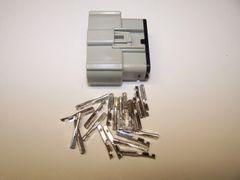 1 Harley 20x Gray Female OEM Molex MX150 connector+terminals