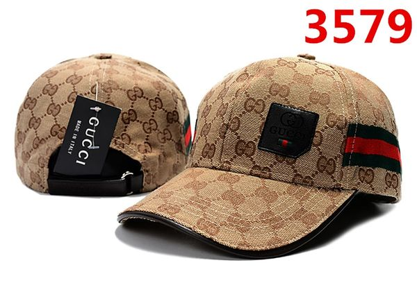 Original Gucci Embossed Embroidered Printed Baseball Cap Catalog 108 (8 Colors Available)