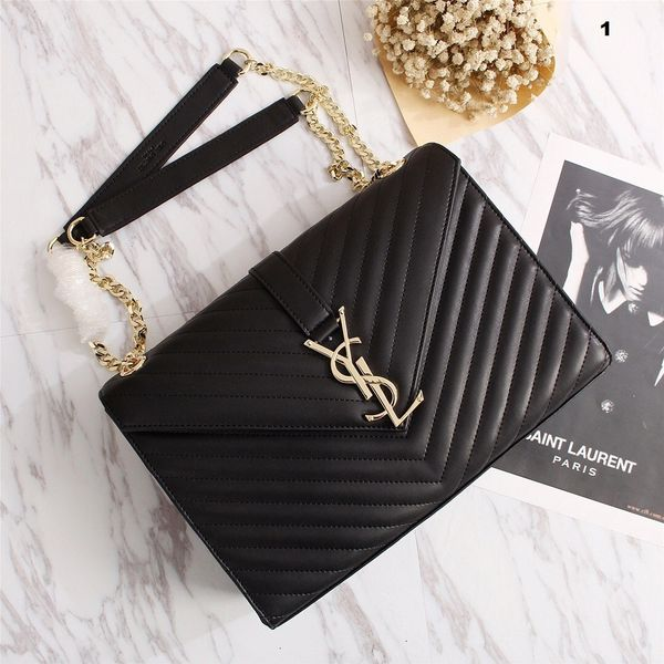 NEW 2018 Original Saint Laurent (YSL) Handbags Catalog 6 (6 Colors Available)