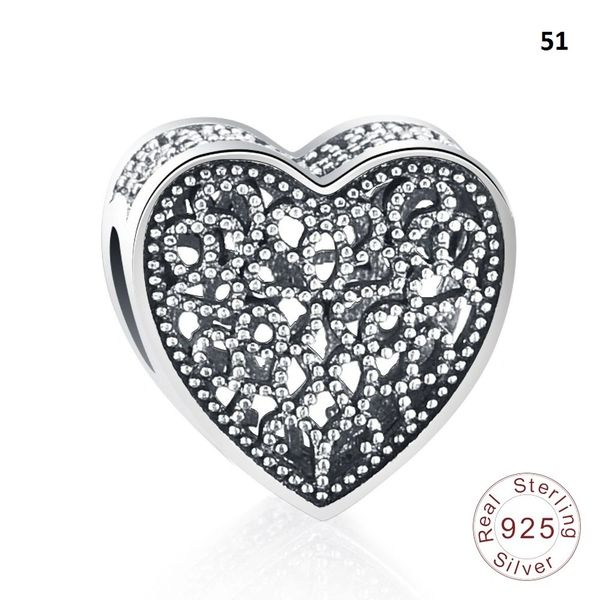 Real 925 Sterling Silver Crafted Pandora & Universal Charms Catalog 6 (10 Charms To Choose From) (Free 7 Day Shipping If You Purchase 10 Or More Charms)