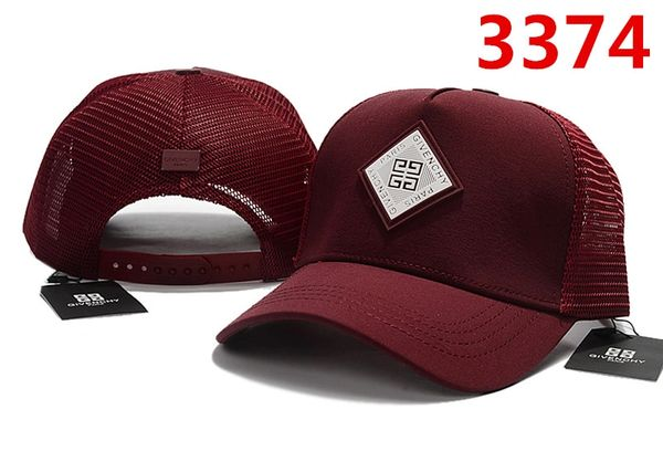 Summer Givenchy Baseball Cap Catalog 101 (5 Colors Available)