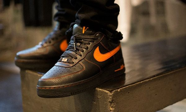 Men's VLONE X Nike Lab Air Force 1 Low Sneakers