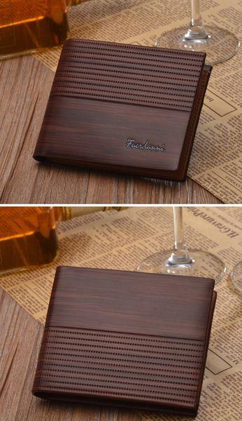 Men's Vintage Fuerdanni Genuine Leather Wallet