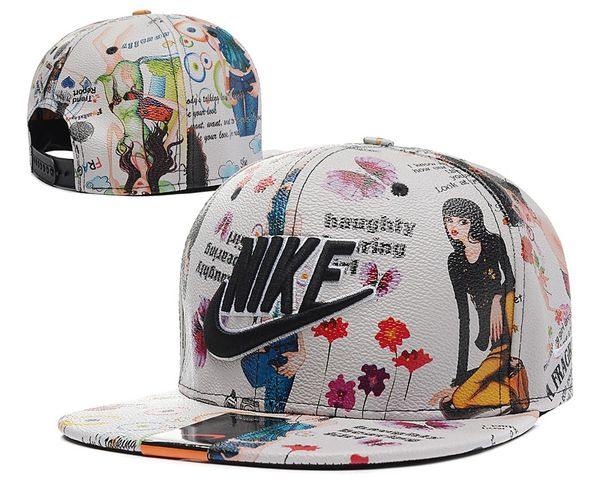 The Nike Futura Custom Hand Painted Edition Snapback