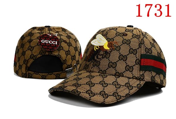Original Gucci Embossed Embroidered Printed Baseball Cap Catalog 112 (7 Colors Available)