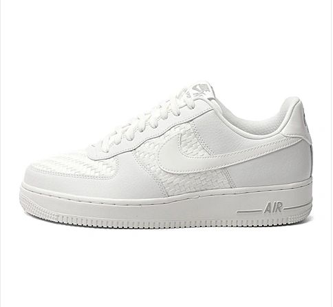 Men's Nike Air Force 1 07 LV8 Summit White & Chrome Sneakers