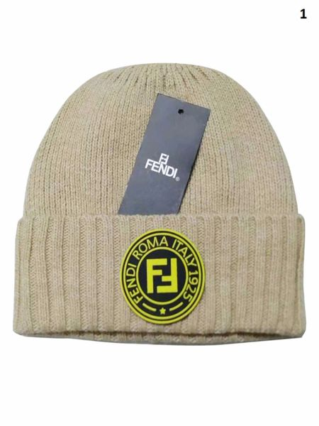NEW Winter Original Fendi Knit Wool Hat Catalog 1