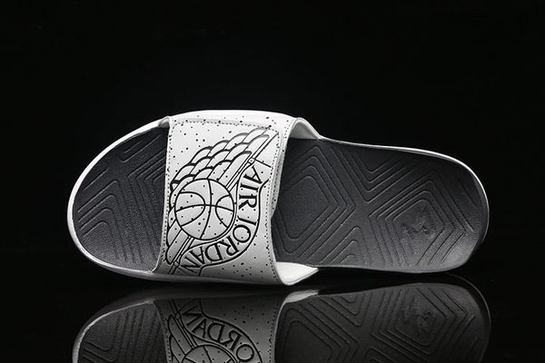 NEW Air Jordan Tech Grey Hydro 7 Sandals