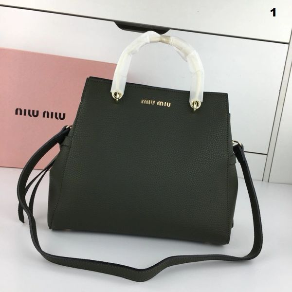 NEW 2018 Original Miu Miu Handbags Catalog 2 (4 Colors Available)