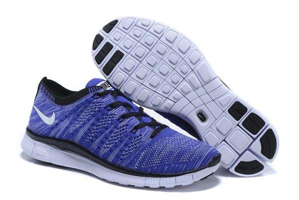 Men's Nike Flyknit 5.0 Zoom Baolan & Black Running Shoe