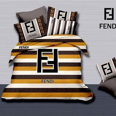 Fendi Luxury High-Quality 6 Pc Brand Bed-Set