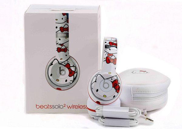 Beats Solo2 Wireless Hello Kitty 40th Anniversary Edition Headphones (Limited Edition)