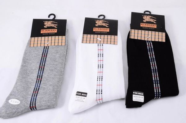 Burberry Original Stripe Print Casual Socks 1399622