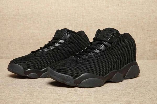 """Air Jordan 13 Low """"Custom BLACK CAT"""" All Black Sneaker (Special Edition)"""
