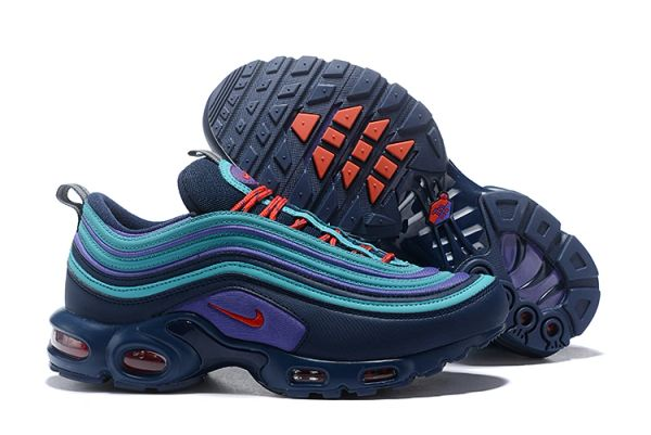 NEW Blue Nike Air Max 97 Plus Running Shoe