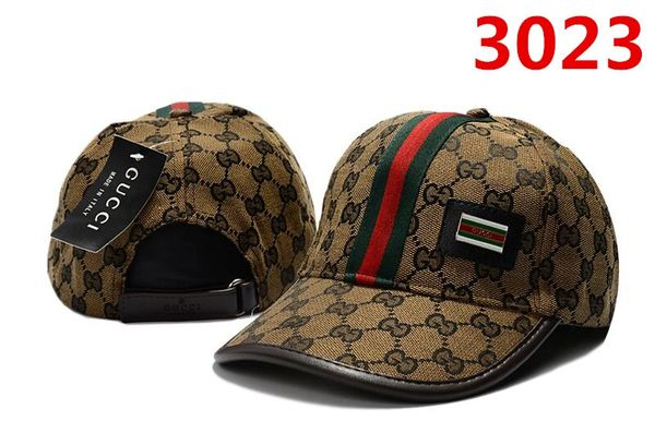 Original Gucci Embossed Embroidered Printed Baseball Cap Catalog 110 (8 Colors Available)