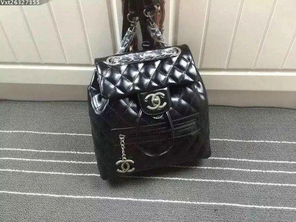 Vintage Chanel Lambskin Large Backpack