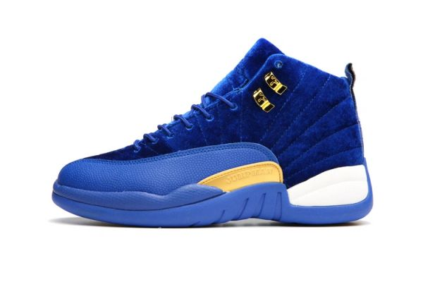 "Air Jordan 12 Retro ""Blue Leather Suede"" Sneaker (Special Limited Edition)"