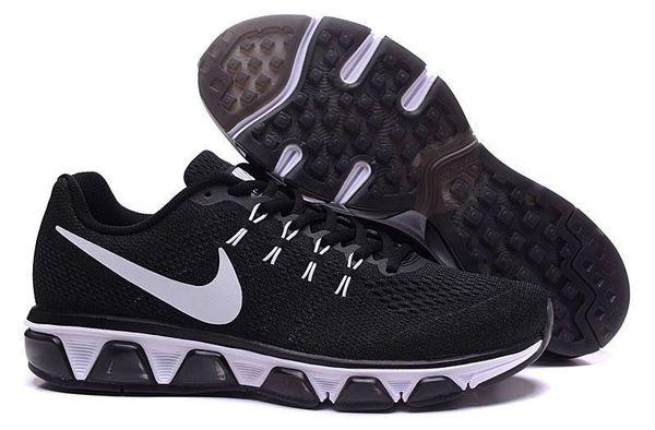 Men's Nike Air Max Black/White Tailwind 8 Running Shoe