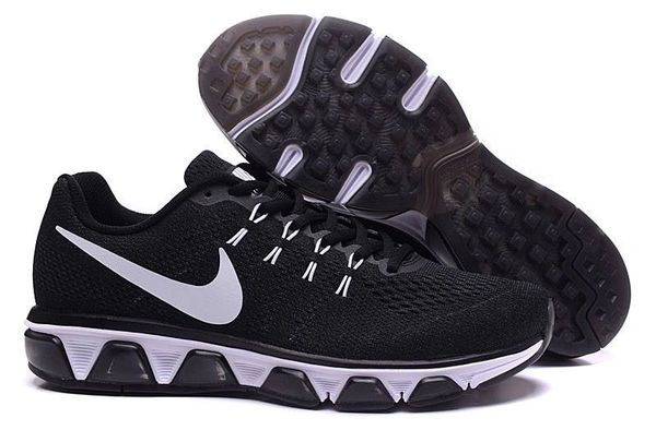 Ladies Nike Air Max Black/White Tailwind 8 Running Shoe