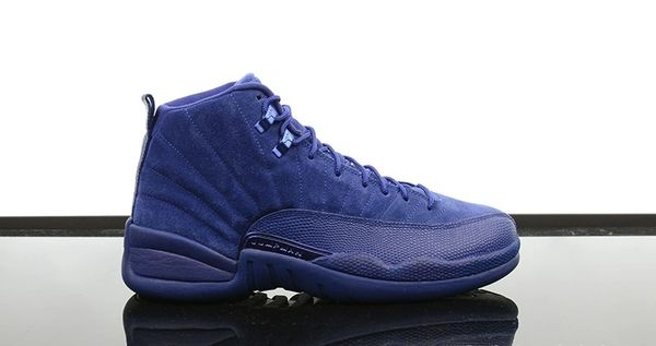 "Air Jordan 12 Retro ""Blue Suede"" Sneaker"